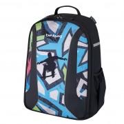 Rucsac Be.Bag ergonomic dimensiune 34x39x19 cm, motiv Airgo Skater