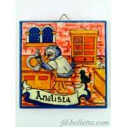 Mattonelle ceramica mestiere Analista
