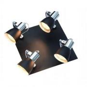 Light Prestige Rawenna 4 plafon czarny