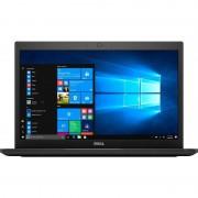 Laptop Dell Latitude 7480 14 inch Full HD Intel Core i7-7600 8GB DDR4 256GB SSD FPR Windows 10 Pro Black