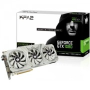 Placa video KFA2 GeForce GTX 1080 Hall of Fame (HOF), 1733 (1873) MHz, 8GB GDDR5X, HOF RGB Lighting, 256-bit, 3xDP, HDMI, Dual Link-DVI, 80NSJ6DHL2SK
