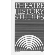 Theatre History Studies 1991: Volume 11 by Ron Engle