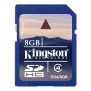 Card Kingston SDHC 8GB Clasa 4 D4/8GB