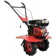 Motocultor Gardelina 900 WM cu roti metal 250mm, plug BG si prasitoare hobby