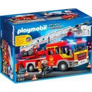 PLAYMOBIL® 5362 City Action - Feuerwehr-Leiterfahrzeug mit Licht und Sound