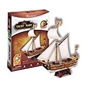 CubicFun Yacht Mary 3D Puzzle