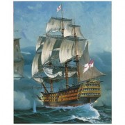 Maquette Bateau : Coffret Cadeau Battle Of Trafalgar