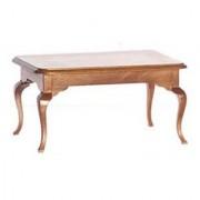 Dollhouse Quaint Walnut Dining Room Table