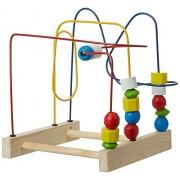 Skillofun Beads Trail - Junior Twister Wooden Beads, Multi Color