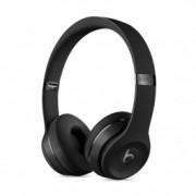 Beats Solo3 On-Ear черни безжични слушалки с рамка и наушници с размер на ухото