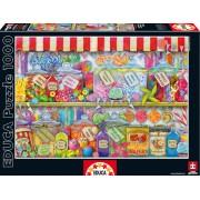 EDUCA 16291 Puzzle Genuine Candy Shop 1000 bucăţi