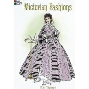 Victorian Fashions Coloring Book by Tom Tierney