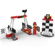2014 The New Shell V-power Lego Collection Finish Line & Podium Set 40194 Exclusive Sealed