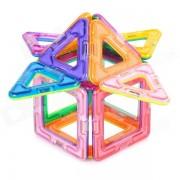 M14 Brain Development Educational Magnetic Construction Piece Toy for Children / Kids - Multicolored