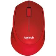 Mouse Logitech Optic Wireless M330 Silent Plus (Rosu)