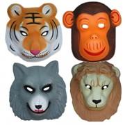 Polifoam állatos álarcok, nagy
