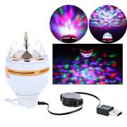 Disco žiarovka s USB pripojením