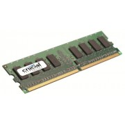 Scheda di memoria Crucial Technology CT12864AA800 1 GB 240-pin DIMM DDR2 PC2-6400 CL=6 Unbuffered NON-ECC DDR2-800 1.8V 128Meg x 64 Memory