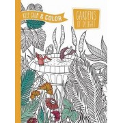 Keep Calm and Color - Gardens of Delight Coloring Book by Marica Zottino