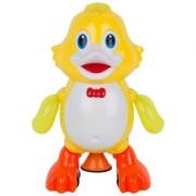 Cute Swing Duck Musicla Toy -Yellow