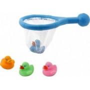 Kiokids - Set 4 ratuste de baie si cosulet cu plasa
