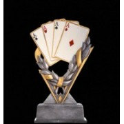 Trofeu Resin Poker