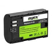 Ayex LP-E6 Batterie Li-Ion pour Canon 5D Mark II, 5D Mark II, 7D, 6D