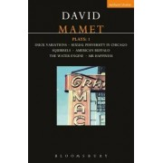 Mamet Plays: Duck Variations, Sexual Perversity in Chicago, Squirrels, American Buffalo, The Water Engine, Mr.Happiness v.1 by David Mamet