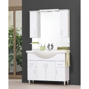 Tboss Bianka 105 alsó szekrény + mosdótál + felsőszekrény