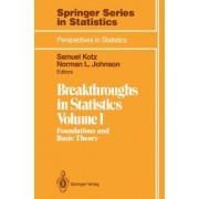 Breakthroughs in Statistics by Samuel Kotz
