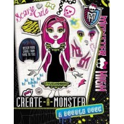 Monster High: Create-A-Monster: A Doodle Book by Kirsten Mayer