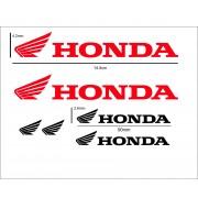 Adesivi Honda nero rossi o colore a richiesta