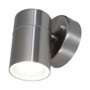 energie A++, Buitenwandlamp True - 1 lichtbron metaal zilverkleurig, Näve