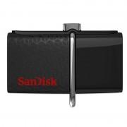 Memorie USB Sandisk Ultra Dual OTG 16GB USB 3.0 Black