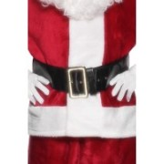 Santa Belt With Large Gold Buckle