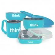 Thinkbaby Feeding Set - BPA Free - The Complete - Light Blue - 1 Set