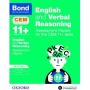 Bond 11+: English and Verbal Reasoning: Assessment Papers for the CEM 11+ Tests by Michellejoy Hughes