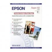 Hartie Fotografica Epson Premium Semigloss A3+ 20 foi