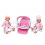 Loko Toys My Dolly Sucette Набор Первые шаги с каталкой автокреслом и ходунками