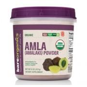 BareOrganics AMLA (Indian Gooseberry) POWDER (Raw-Organic) (8oz) 227g