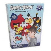 Angry Birds 72 Piece Wall Puzzle 24 X 36 Inches ( Safe for Painted Walls)