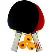Хилки за тенис на маса 2 + 3 топчета