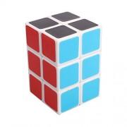 Dodolive 2x2x3 Square Column Brain Teaser Magic Cube Funny Educational Plastic Puzzle,White