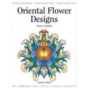 Oriental Flower Designs by Polly Pinder