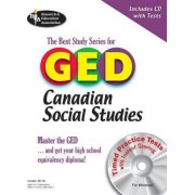 The Best Study Series for GED Canadian Social Studies by Colin Bain