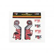 Fox Racing Shox Fork and Shock Decal Kit Media czerwony Media