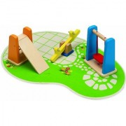 Hape - Happy Family - Doll House Playground Set