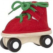 Hape - Felt Lacing Skate Red