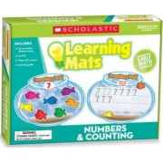 Numbers & Counting Learning Mats by Scholastic Teaching Resources