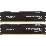 Kit Memorie Kingston HyperX Fury Black 2x8GB DDR3L 1600MHz CL10